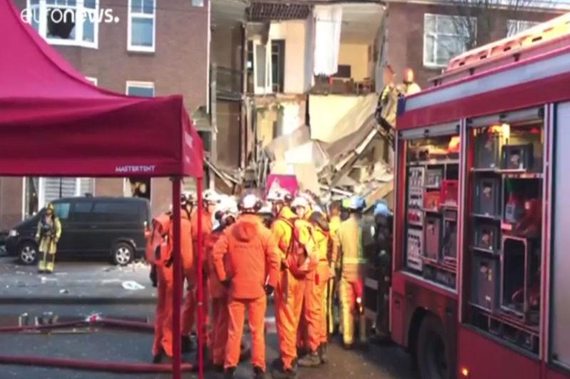 انهيار مبنى في هولندا يسفر عن مقتل شاب أرمني