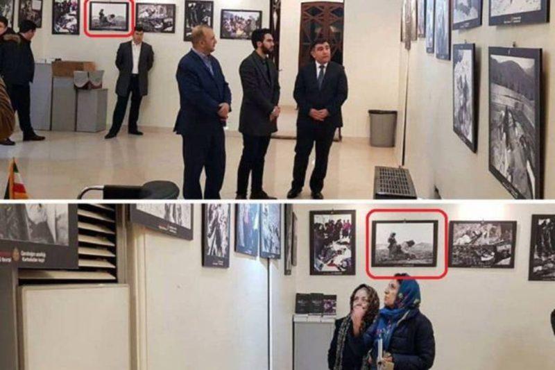 إيران تحرج أذربيجان بكشفها لصورة استخدمتها الأخيرة في معرض بسفارتها بطهران