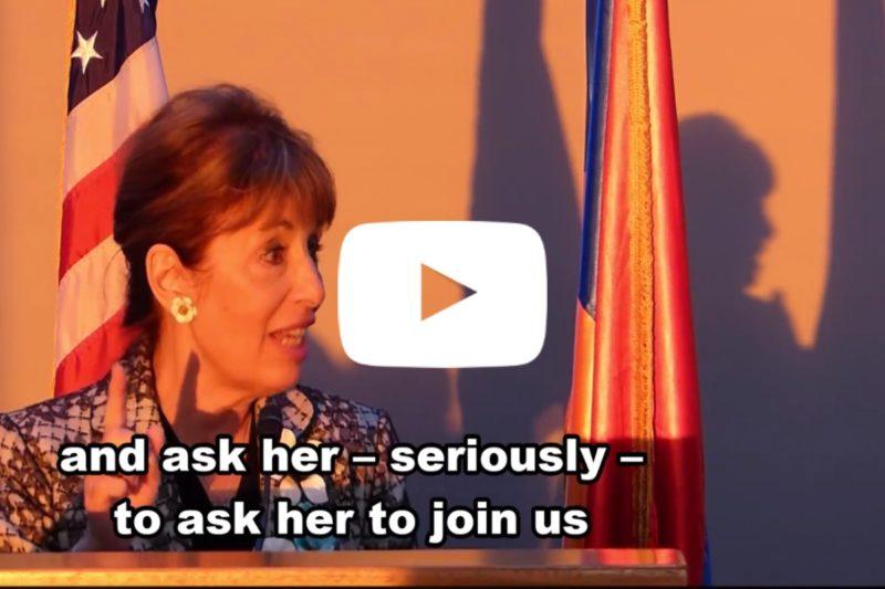 عضو الكونغرس جاكي سبير تدعو كيم كارداشيان للتدخل لدى ترامب ليعترف بالإبادة الأرمنية