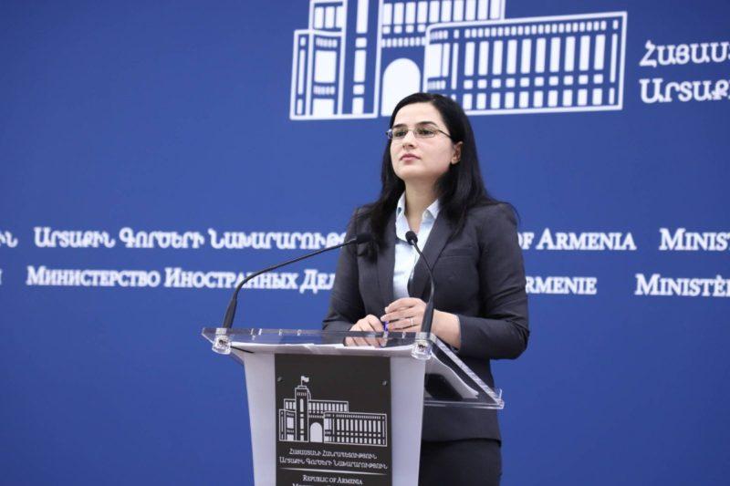 الخارجية الأرمنية: تبرير الإبادة الجماعية تحت غطاء الإنكار أمر مخزي و خطير.