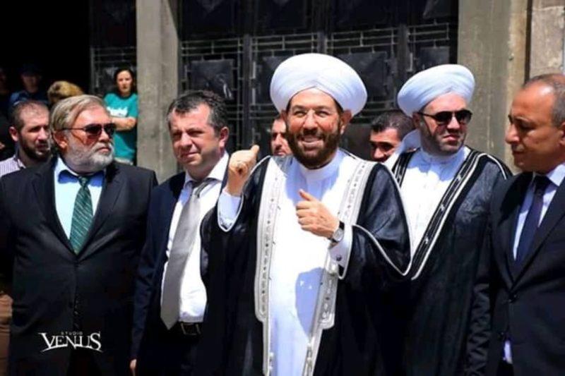 حسون: أرمينيا تنزع الألغام التي زرعتها بعض الدول العربية في سوريا