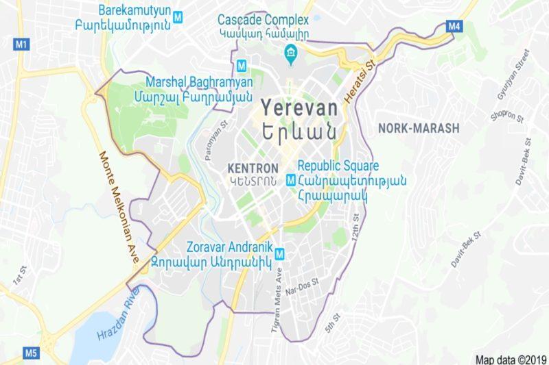 حي كينترون وسط يريفان